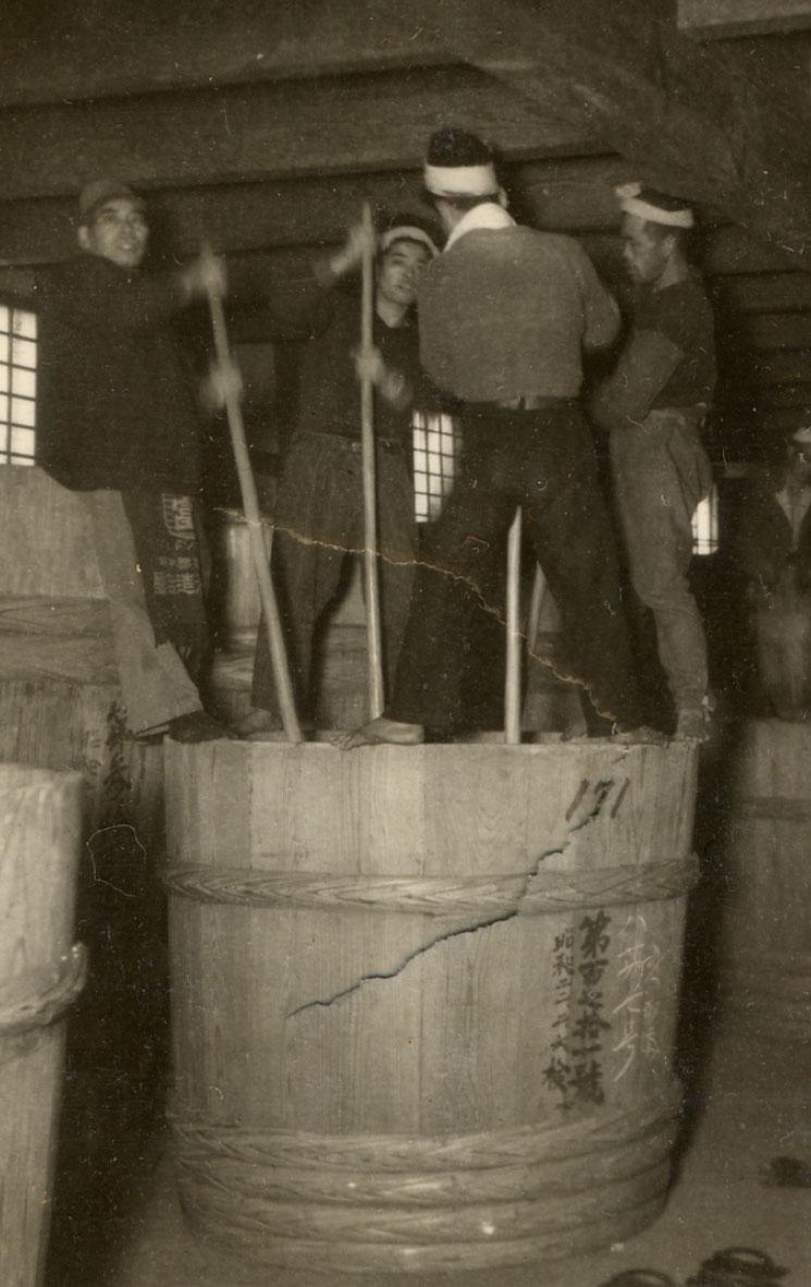 伝統の酒造り