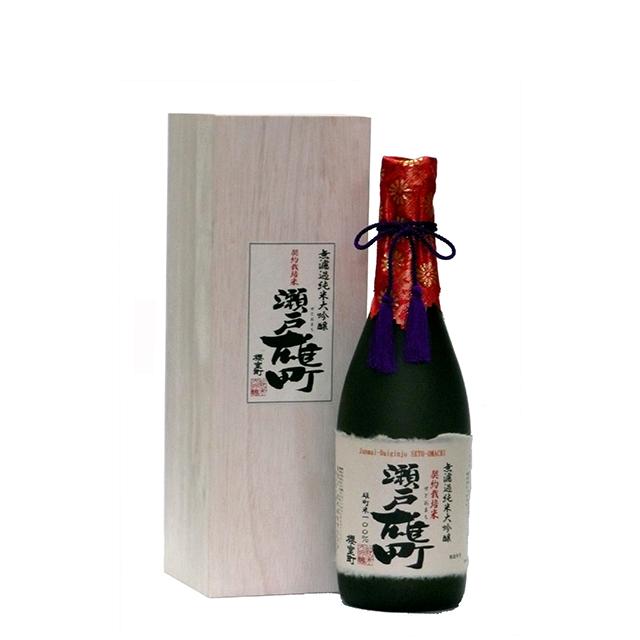 無濾過純米大吟醸 契約栽培米 瀬戸雄町