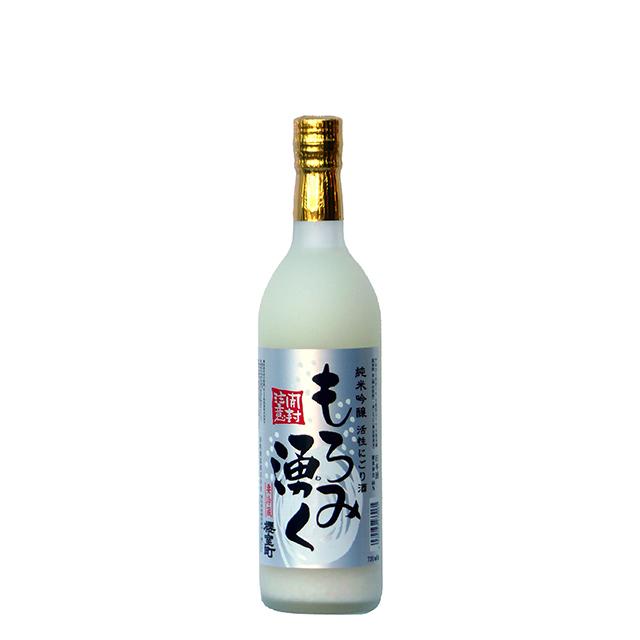 純米吟醸活性にごり酒 もろみ湧く